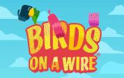 Thunderkick Birds on a Wire Logo